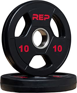 Best rep rubber coated olympic plates Reviews
