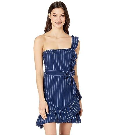 BB Dakota So One Sided Dress (Vintage Blue) Women