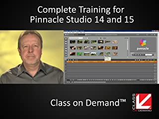 Complete Training for Pinnacle Studio 14 & 15 (Institutional Use)