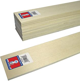 """Basswood boards lumber 1//8 surface 4 sides 24/"""""""