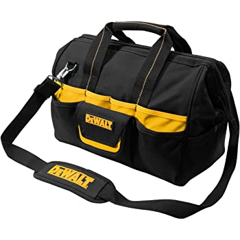 DEWALT DG5543 16 in. 33 Pocket Tool Bag, Black