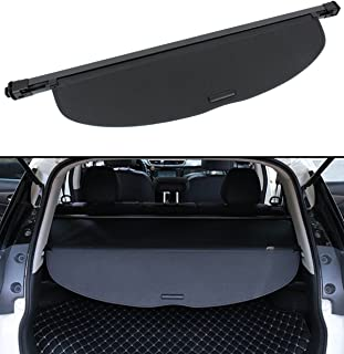 Cuztom Tuning Fits for 2014-2019 Nissan Rogue SV SL Retractable Trunk Cargo Cover Security Shield - Black