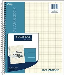 Cambridge Quad Wirebound Notebook 70ct (06194)