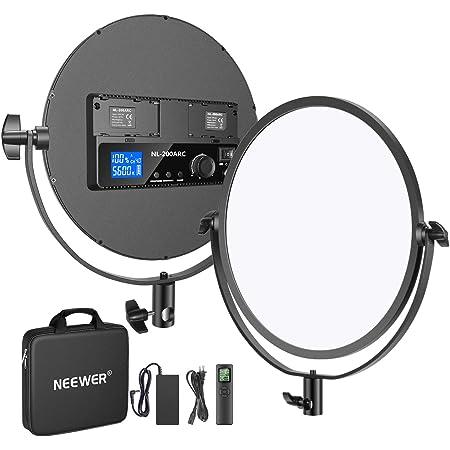 Soporte Bowens para Grabaci/ón de Video Fotograf/ía de Retrato Neewer Luz de Video LED Bicolor de 150W Iluminaci/ón Continua 3300K-5600K CRI 95+ TLCI 95+ con Control Remoto de 2,4G Reflector