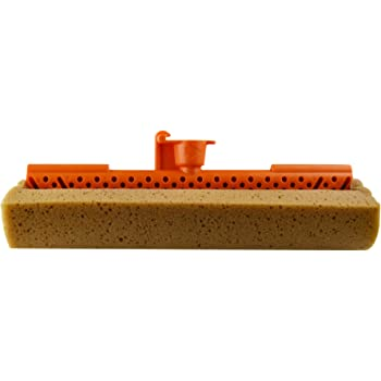 Casabella Quick 'n Easy 1 Count Roller Mop Refill for Item No.52060, Graphite/Orange