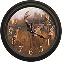 Reflective Art The Buck Stops Here Classic Wall Clock, 16-Inch