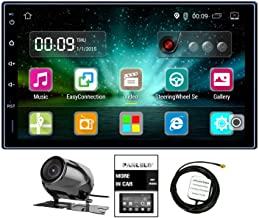 Panlelo LS09YZ 7 Inch 2 Din Android Car Stereo GPS Navigation Head Units AM/FM/RDS Radio Multimedia Player Support BT WiFi Reversing Camera Amplifier Subwoofer