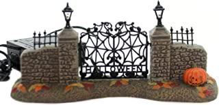 "Department56 Snow Village Accessories Halloween Entry Gate Lit Figurine, 3.25"", Multicolor"