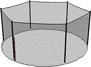 Ampel 24 vervangend veiligheidsnet voor trampoline Ø 430 cm, tuintrampoline vervangingsnet voor 6 palen, extern net, reser...