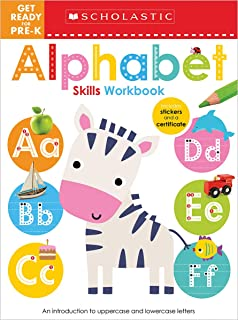 Get Ready for Pre-K ABC Workbook: Scholastic Early Learners (Workbook)