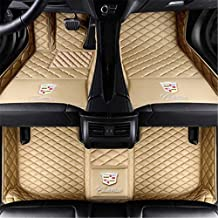 CFMBX1CD9233 Black Nylon Carpet Coverking Custom Fit Front and Rear Floor Mats for Select Cadillac Seville Models