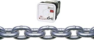 Galvanized ASC MC12740404 Low Carbon Steel Lock Link Single Loop Chain 5//32 Diameter x 40 Length 4//0 Trade 485 lbs Working Load Limit