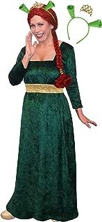 Sanctuarie Designs Plus Size Fiona Halloween Costume Dress Ears Crown 3pc Basic Kit