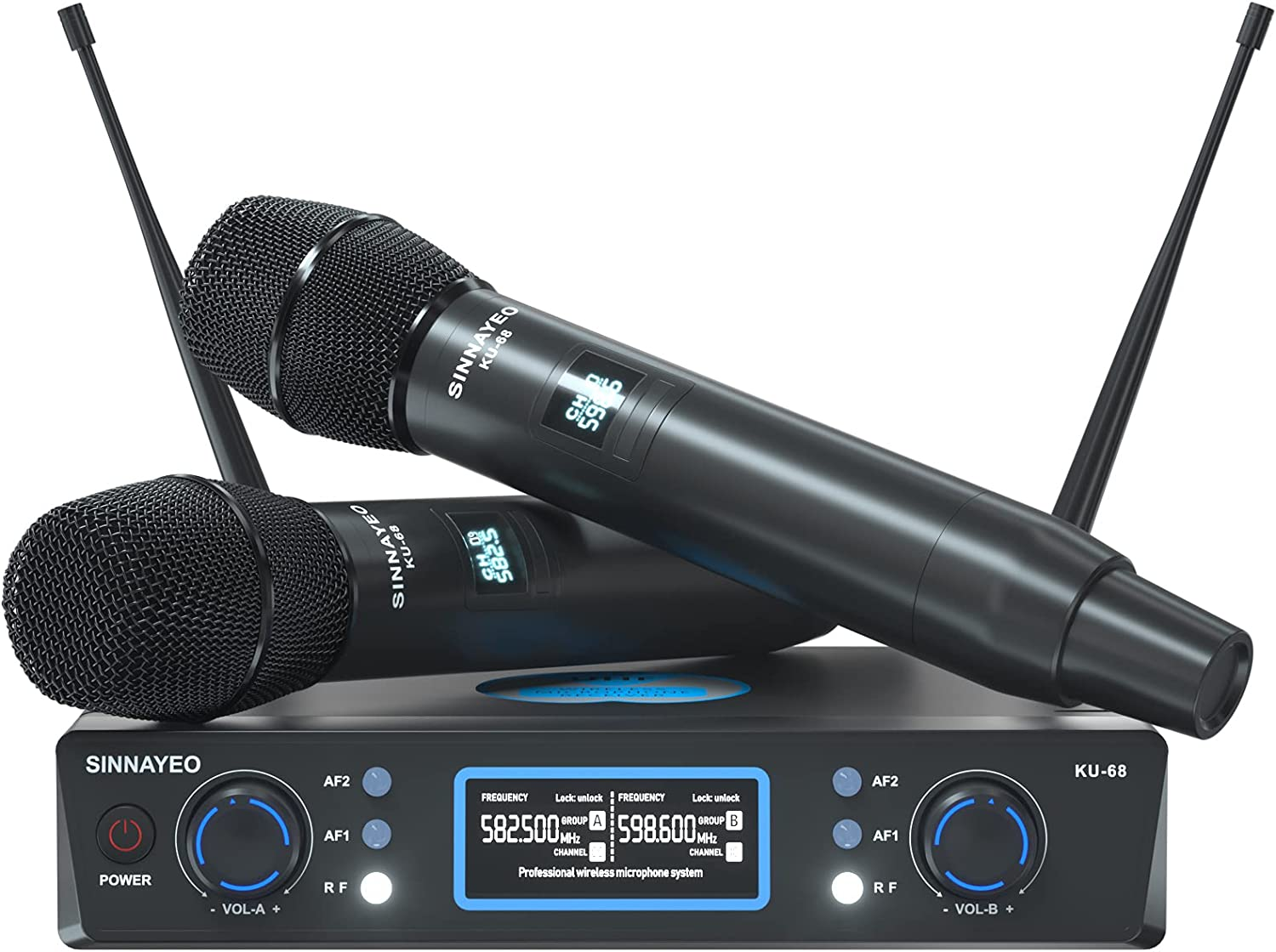 5 ☆ popular Wireless Microphone Sale System Professional Microphones UHF