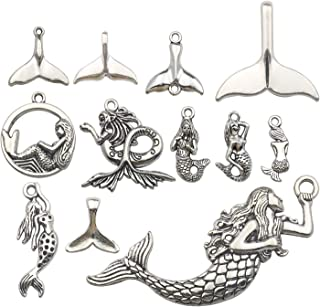 Best mermaid pendants and charms Reviews