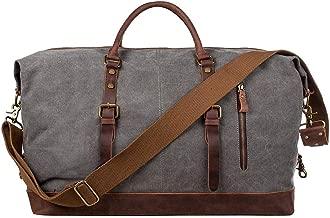 canvas travel duffle bag