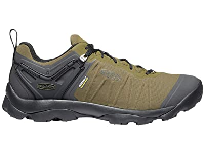 KEEN Venture Waterproof (Dark Olive/Raven) Men
