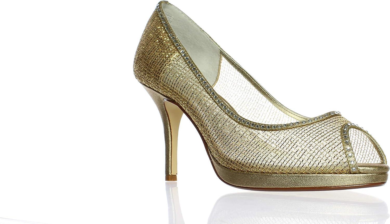 Caparros Caparros Caparros kvinnor Future Metallic Embelled Dress klackar  Vi erbjuder olika kända varumärken