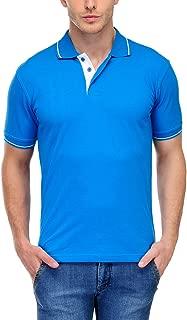 Scott Men's Cotton Polo T-Shirt - Turquoise Blue - 1.1_sp20_XXL