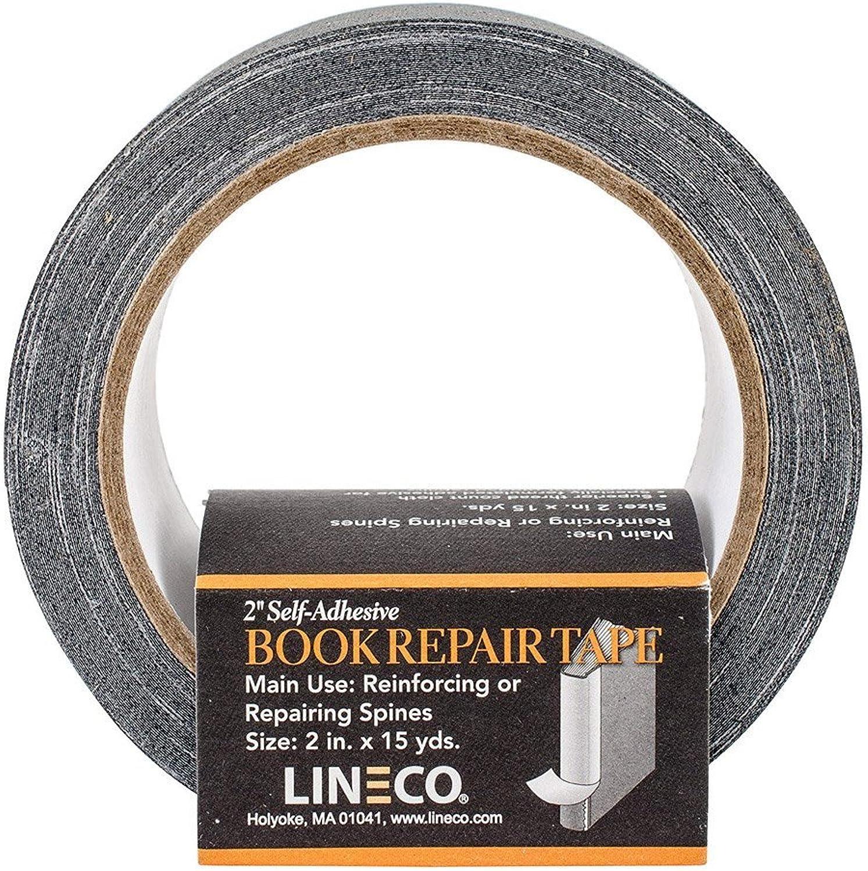 Lineco Self-Adhesive Book Repair Tape-schwarz Tape-schwarz Tape-schwarz 2  X15yd B003QI5RGK   | Eleganter Stil  cc8346