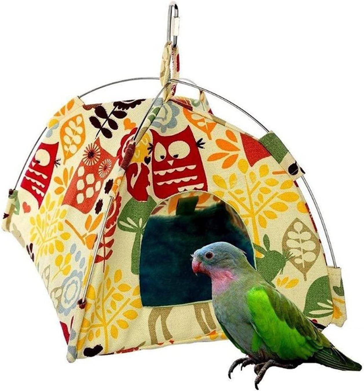 OMYLFQ Cat Hammock Bed Bird Nest Popular brand latest in the world Cave Habitat Parrot House H