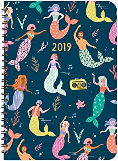 2019 Mermaids at Night 2019 Planner, by Waste Not Paper