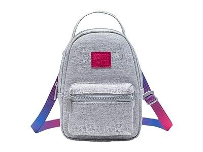 Herschel Supply Co. Nova Crossbody (Light Grey Crosshatch Sunrise) Handbags