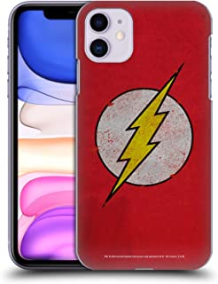 Official The Flash DC Comics Distressed Logo Hard Back Case Compatible for iPhone 11