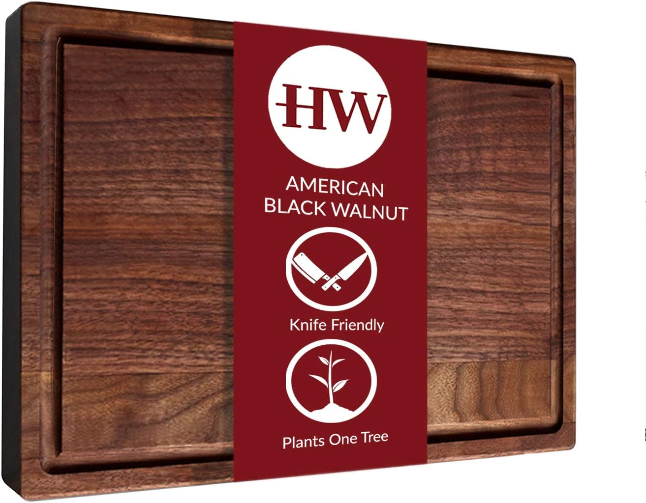 Large American Walnut Wood Cutting Heritage High material for Board by Kitchen favorite