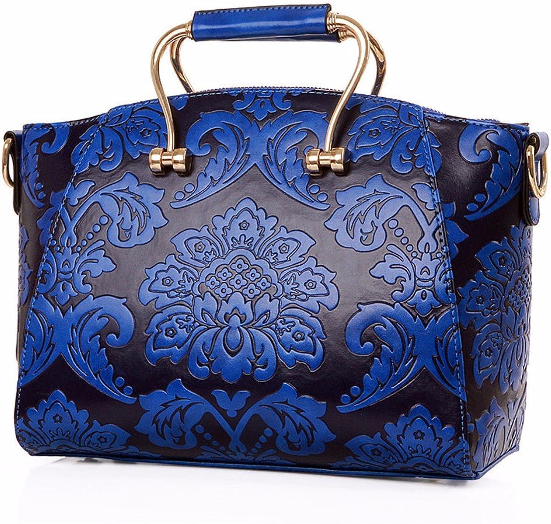 WanJiaherrenhop Geprägte Handtasche Handtasche Mode geprägte Bügeleisen Bag Single Umhängetaschen Griff B0778WJ51P | Zu einem erschwinglichen Preis