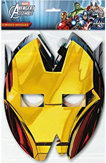 Avengers Party Masks, 8ct