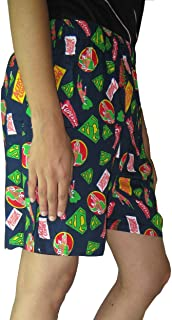Goodluck Elasticated Printed Women's Shorts Size: XL Waist Size 42 inch in relax