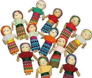 Worry Dolls 2 inch - set of 12