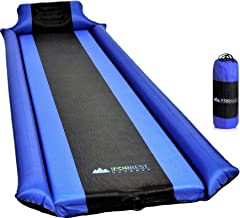 IFORREST Sleeping Pad with Armrest & Pillow - Best Self-Inflating Camping Mattress - Ideal Air Bed for Tent, Cot, Sleeping Bag, and Hammock for Adults and Kids!