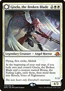 Magic: the Gathering - Gisela, the Broken Blade // Brisela, Voice of Nightmares (28/205) - Eldritch Moon