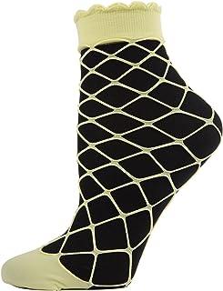 MeMoi Neon Fishnets Fishnet Socks