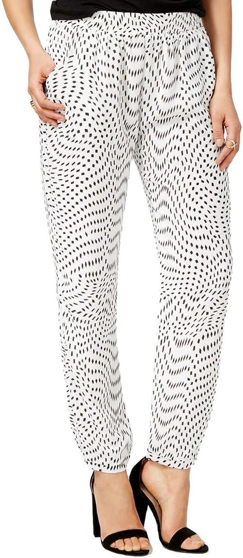 Mare Mare Womens Mae Crepe Printed Jogger Pants
