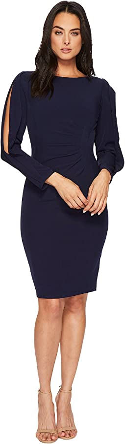 Tahari by ASL Sleeve Detail Sheath