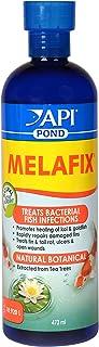 API Pond Melafix Pond Fish Bacterial Infection Remedy Bottle, White, 473 ml