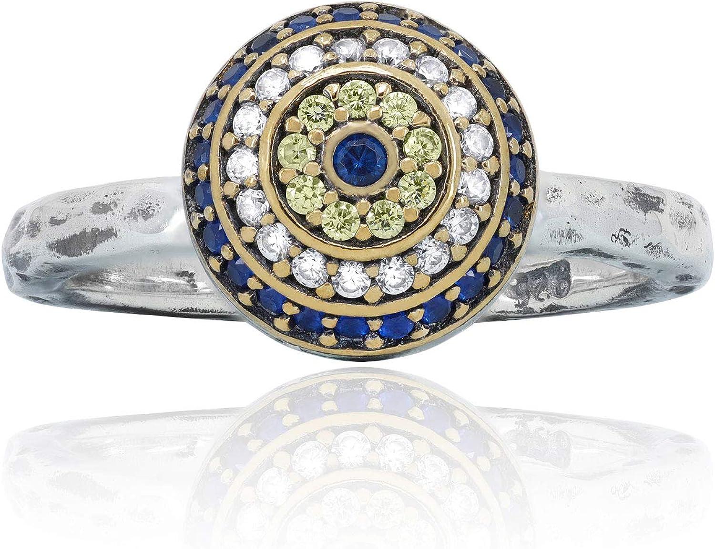 chimoda El Paso Mall Super-cheap 925 Sterling Silver Handmade Women Ring for Mu Hammered