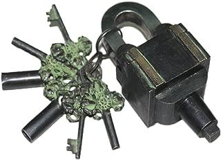 key shaped puzzle lock