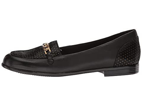 Soft Dots Anastasia Foil Trotters Black Leather gwYxEXqF7