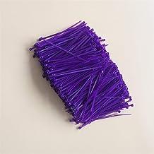 Multifunctionele 300 stks 120 mm zelfsluitende nylon kabelbinders, kunststof ritsbanden, lus wikkelbanden wit en zwart voo...