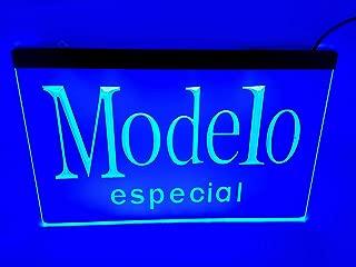 blue modelo especial Bar Pub Led Light Sign