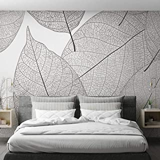 Custom Mural Wallpaper Modern Minimalist Leaf Veins Texture Wallpaper Living Room Bedroom Background Mural Wallpaper Home ...