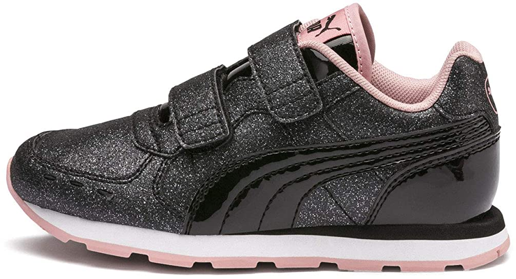 PUMA Kids' Vista Glitz Velcro Sneaker