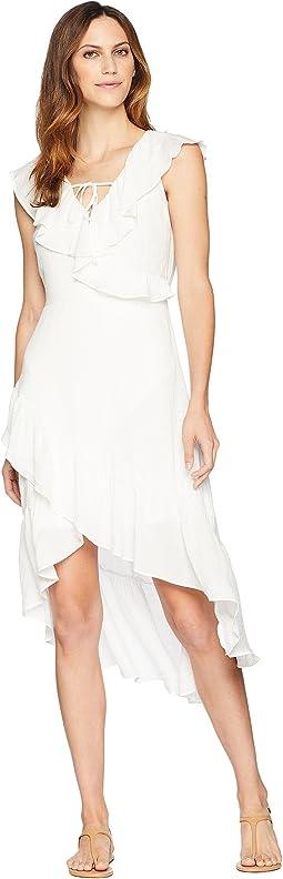 Ruffle High-Low Dress