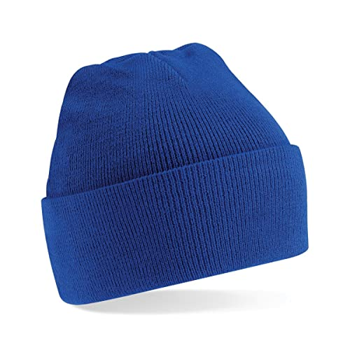 9b8a2da05 Blue Beanie Hat: Amazon.co.uk