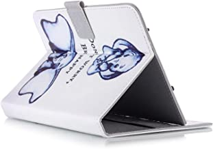 """Stylish Universal 7"""" PU Leather Stand Case Cover For 7 inch Tablet PC,Fits All 7"""" Tablets (White)"""