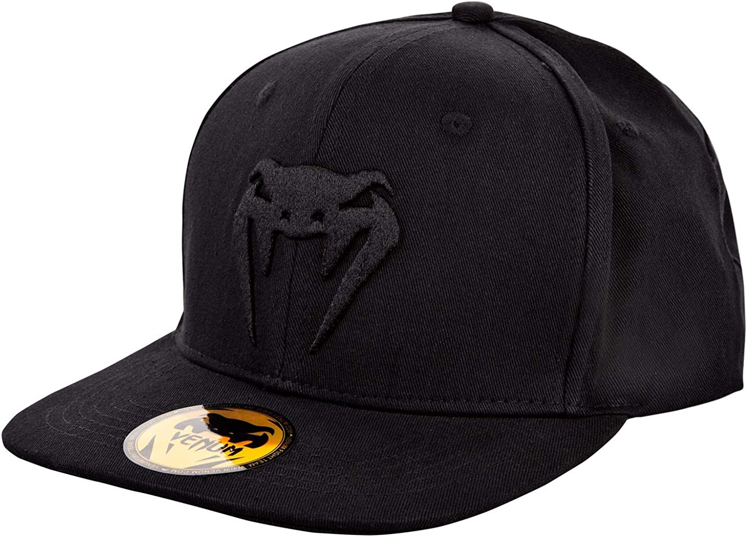 Venum Classic Snapback Hat - Year-end gift Size White New product One Black
